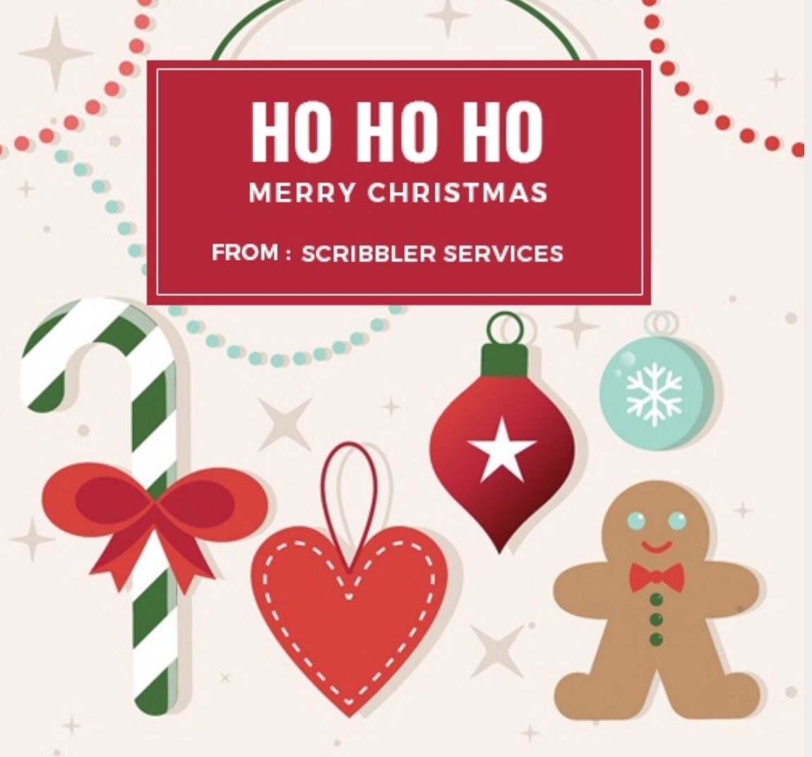 may your day be merry and bright and full of inspiration writers freelanceeditor editing scribblerservices merrychristmas happyholidays