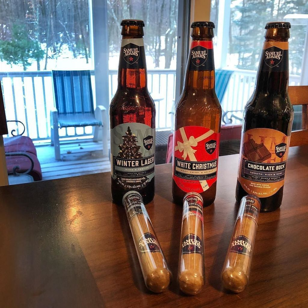 Sam Adams White Christmas.Drink Craft Beer On Twitter Great Christmas Present From