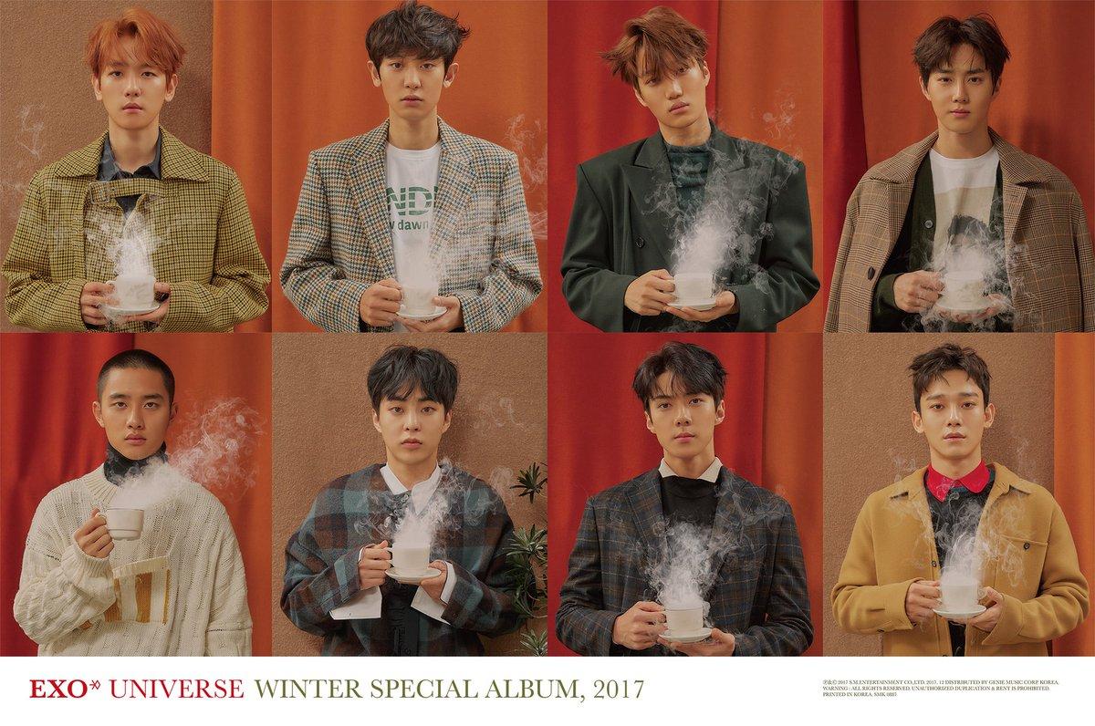 #EXO 2017 Winter Special Album '#Univers...