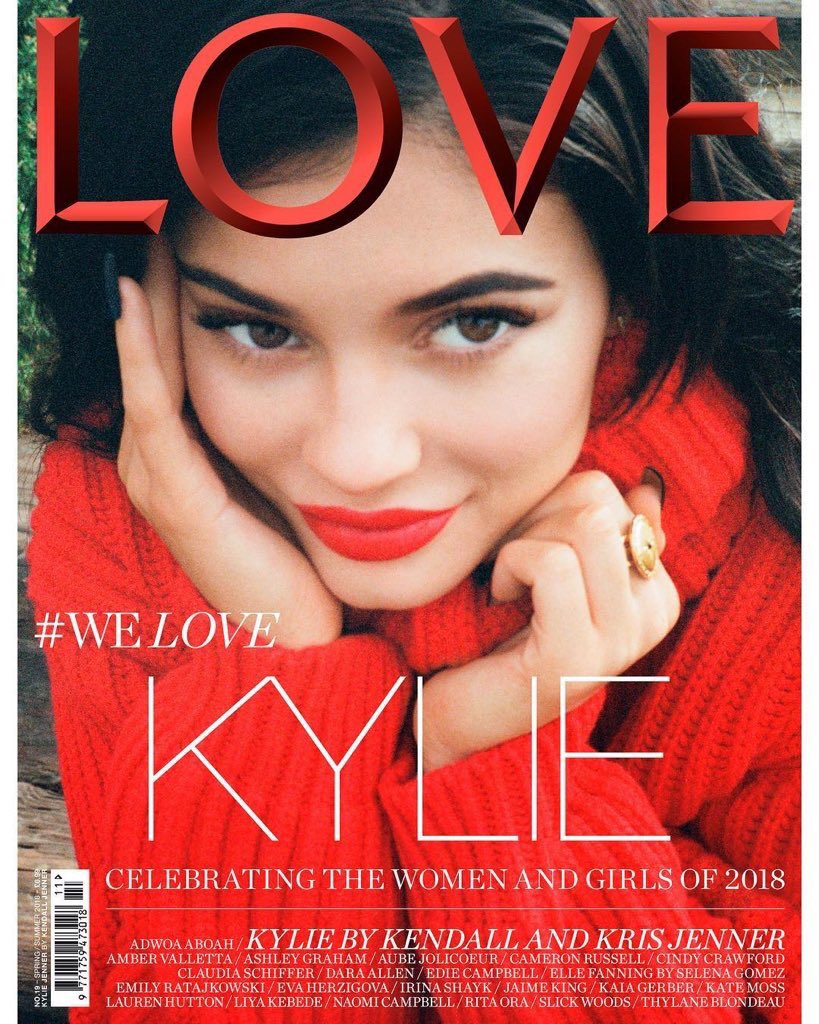 ❤️ @KylieJenner photographed by me for @THELOVEMAGAZINE