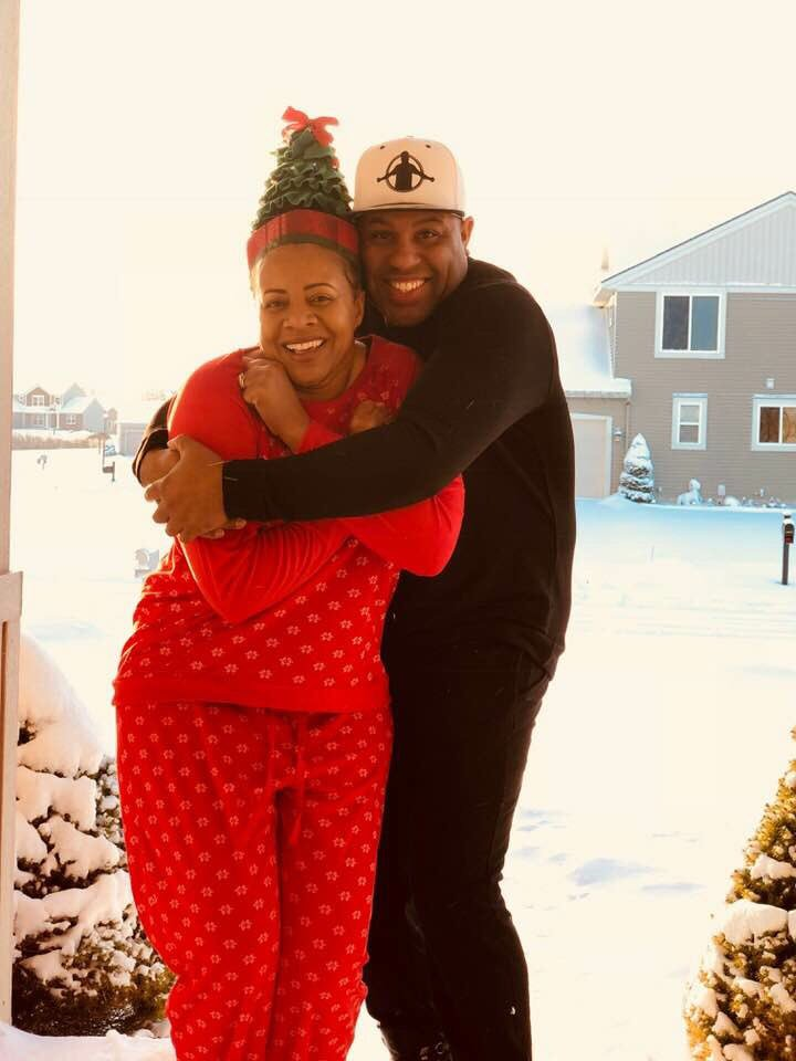 Eric Thomas with endearing, Wife Dede Moseley