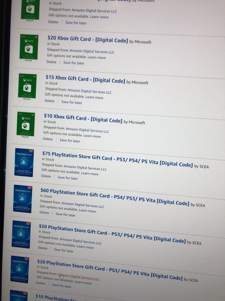 60 Gift Card Playstation Amazon - Gift Ideas