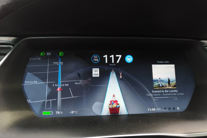 Latest Tesla Software Update >> Elon Musk Delivers Easter Eggs For Christmas With Latest Tesla