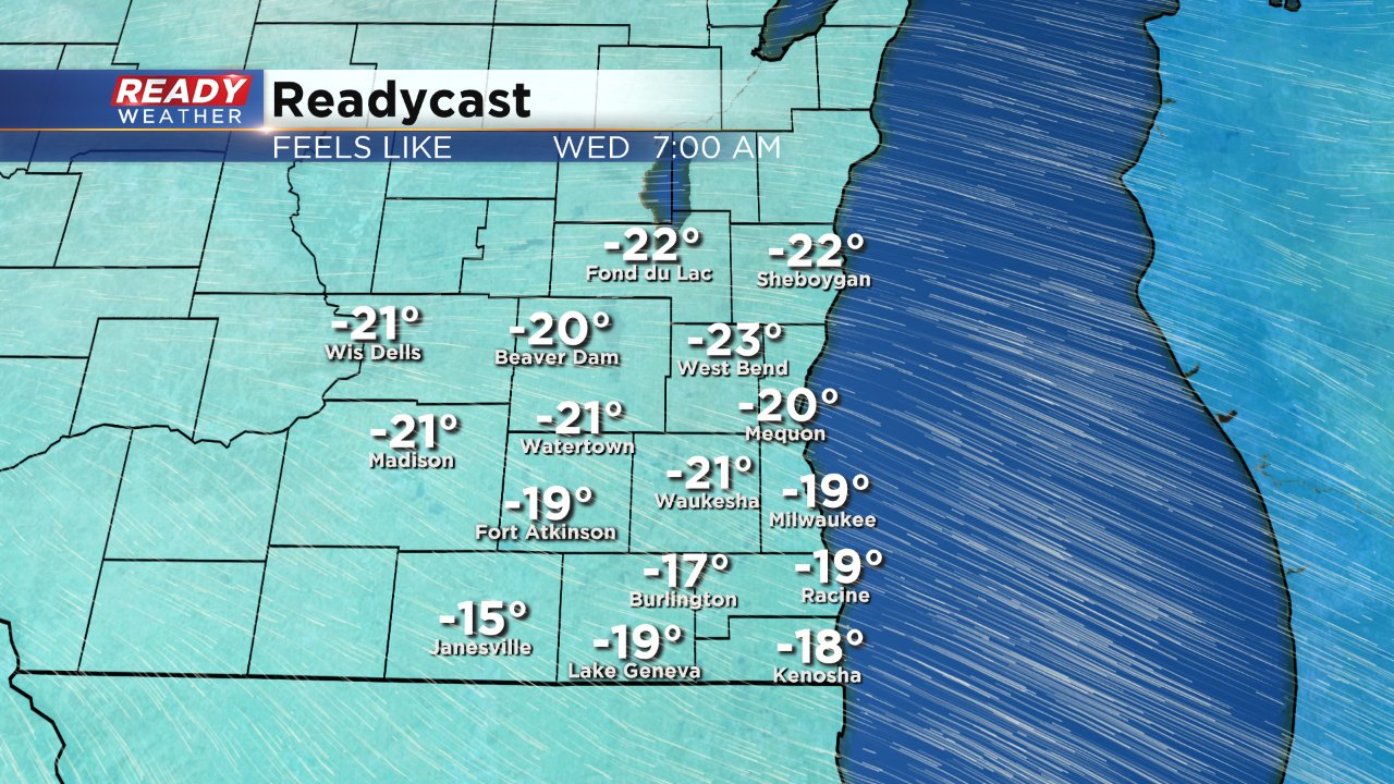 Dangerous cold lasts through Wednesday