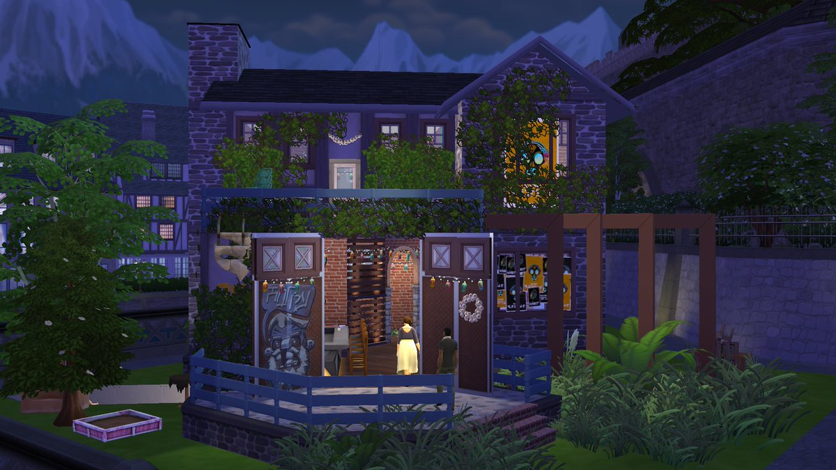 Zaldanarf On Twitter I Built A Really Cool Trap House In The Sims 4 Simgurudrake Thesims Download It Here Https T Co Hbm3ozpjq8