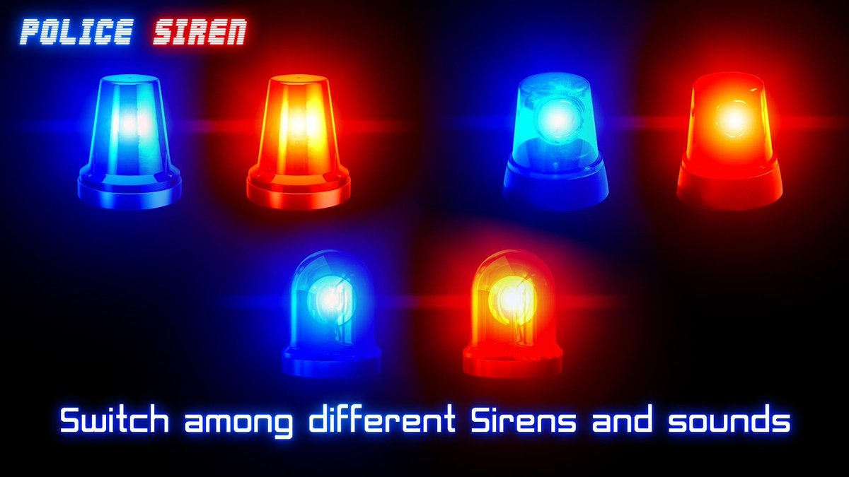 Q 360 Media On Twitter Police Siren With Equalizer Free Playstore Https Tco Jldz46aagq