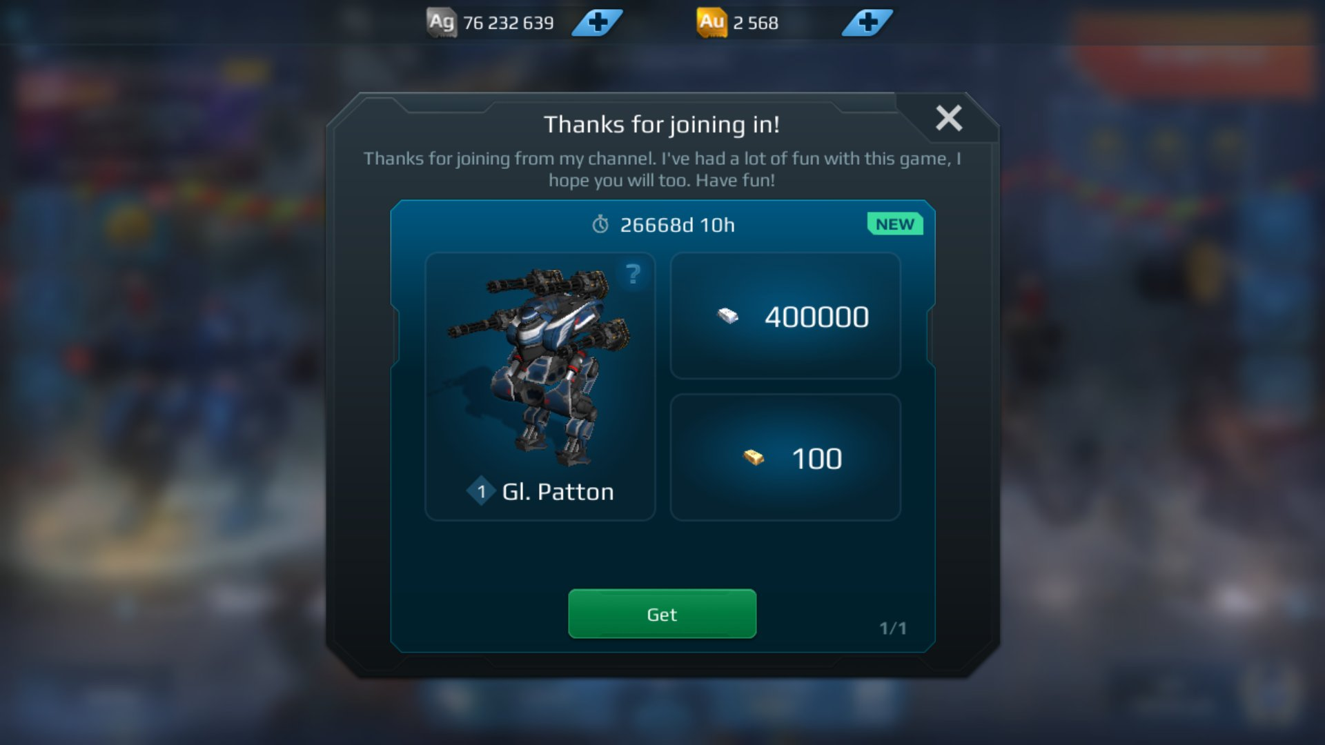 Want Some Free Loot Newest Link 3 5 18 War Robots Forum