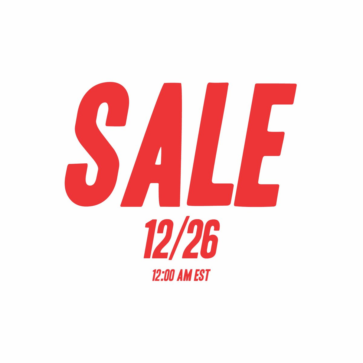 Our holiday sale is now live on our web...