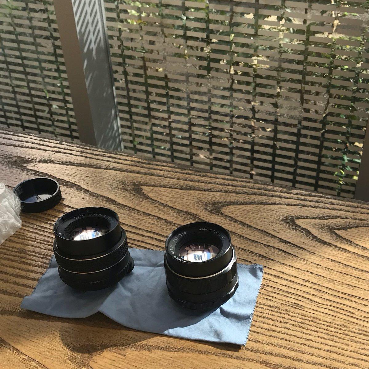 北村写真機店さんのオールドレンズバーたのしい。 実はレンズ沼はまだ知らないので最初の一本ですね。
