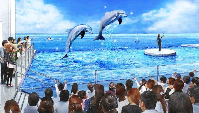 上越市立水族博物館「うみがたり」2018年6月新潟にオープン、日本海を一望できる大水槽など -