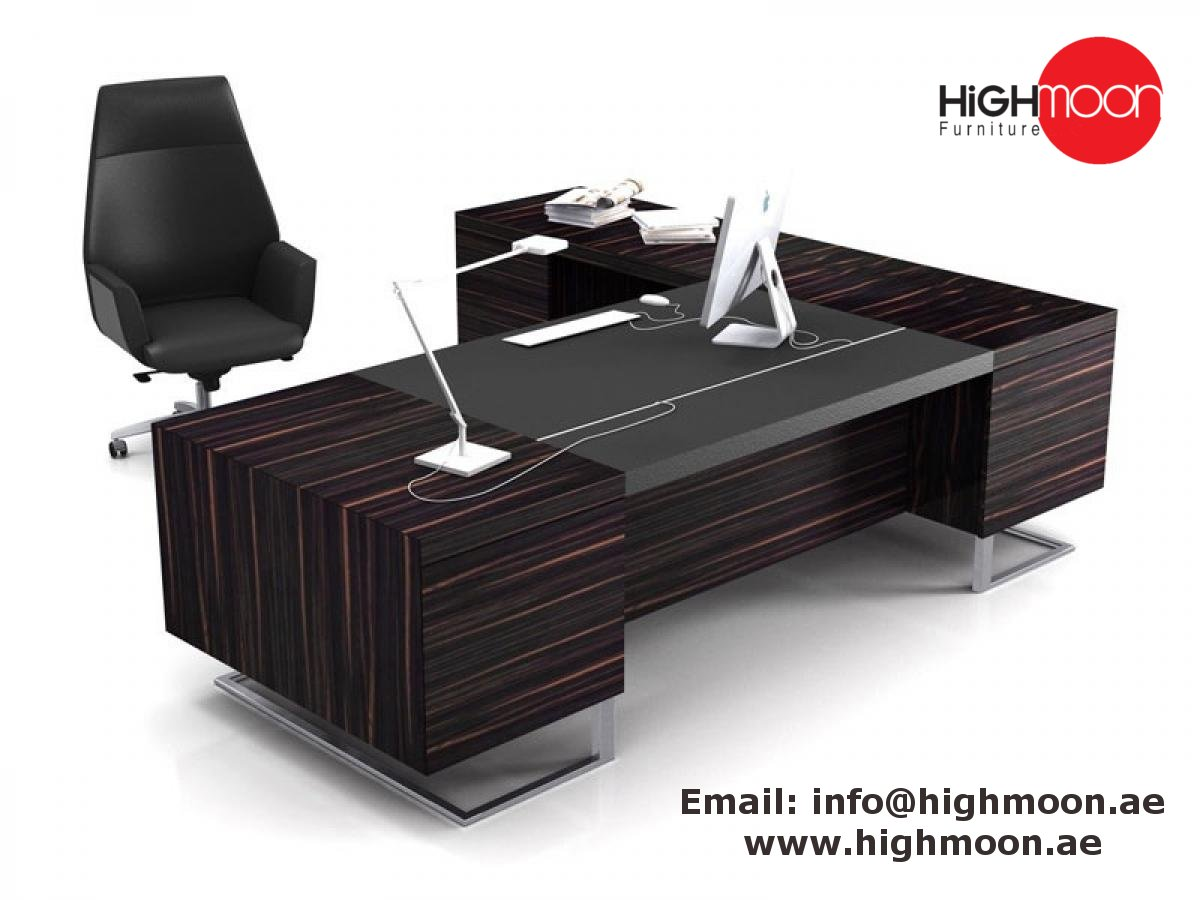 Highmoon Office Furniture Is Offering The Largest Selection Of Modern Executive Desks With Superior Quality At Best Price Visit Our Online