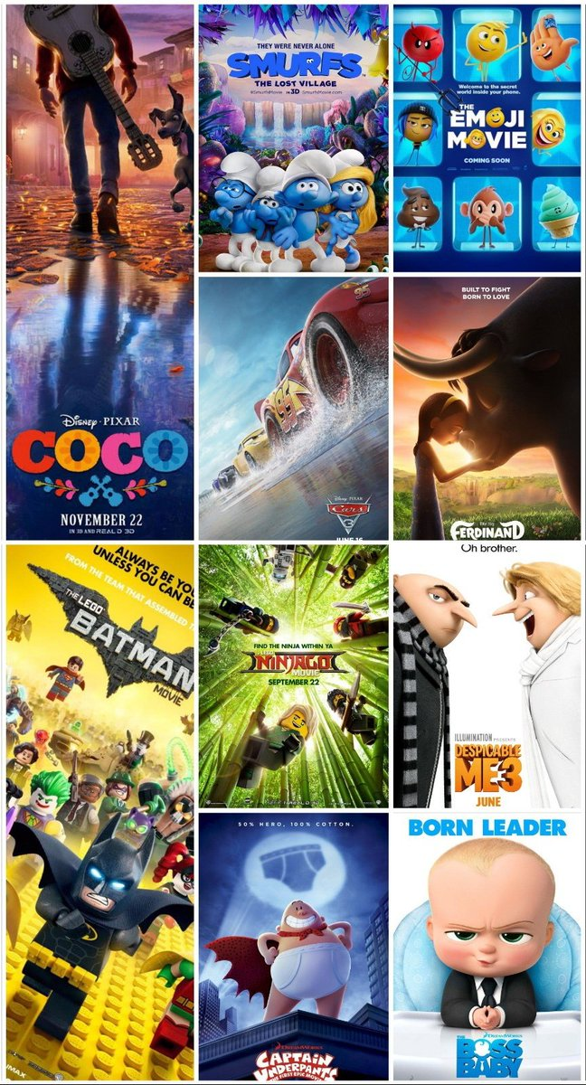 Popcornography On Twitter Whats Your Favourite Animated Movie - How your favourite animated movies are put together and edited