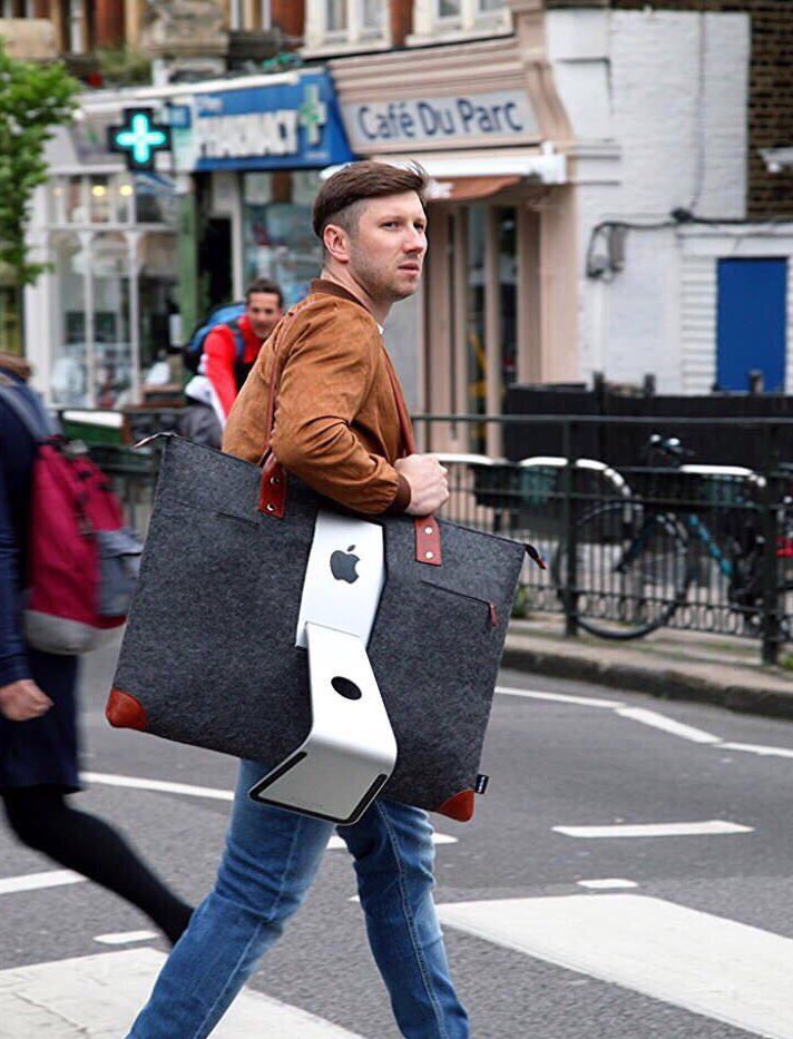 An iMac carrying case. I've seen it all now