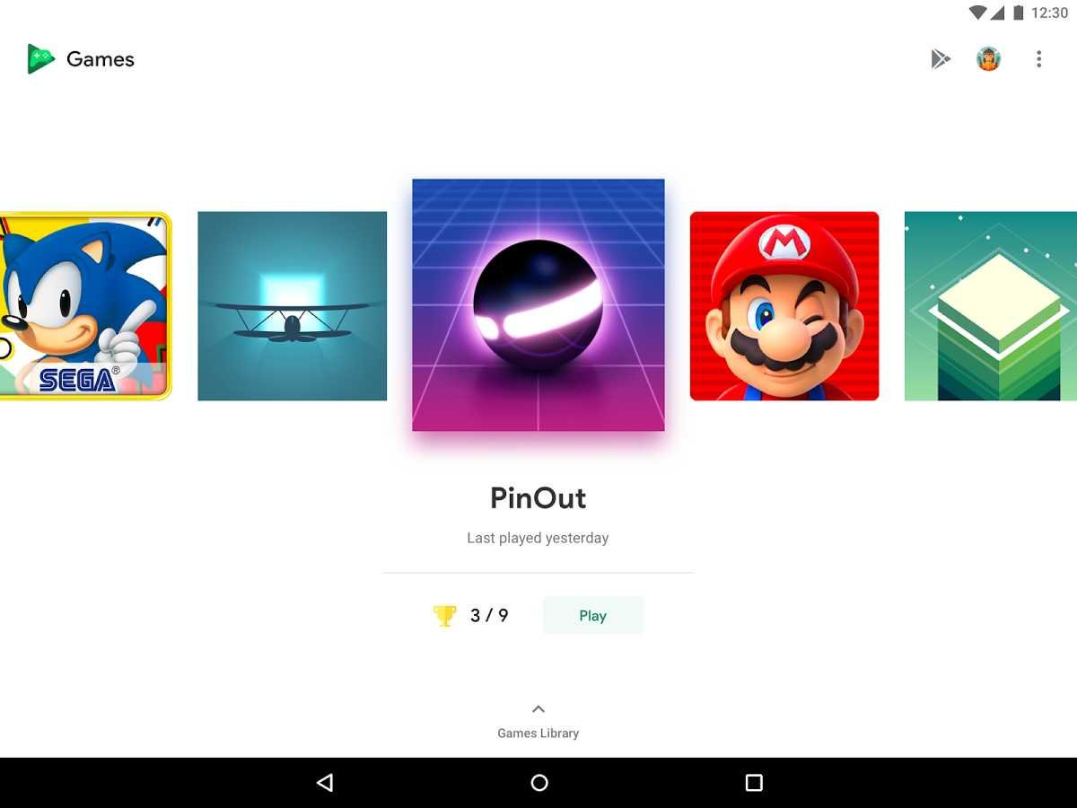 Игры для андроид большие