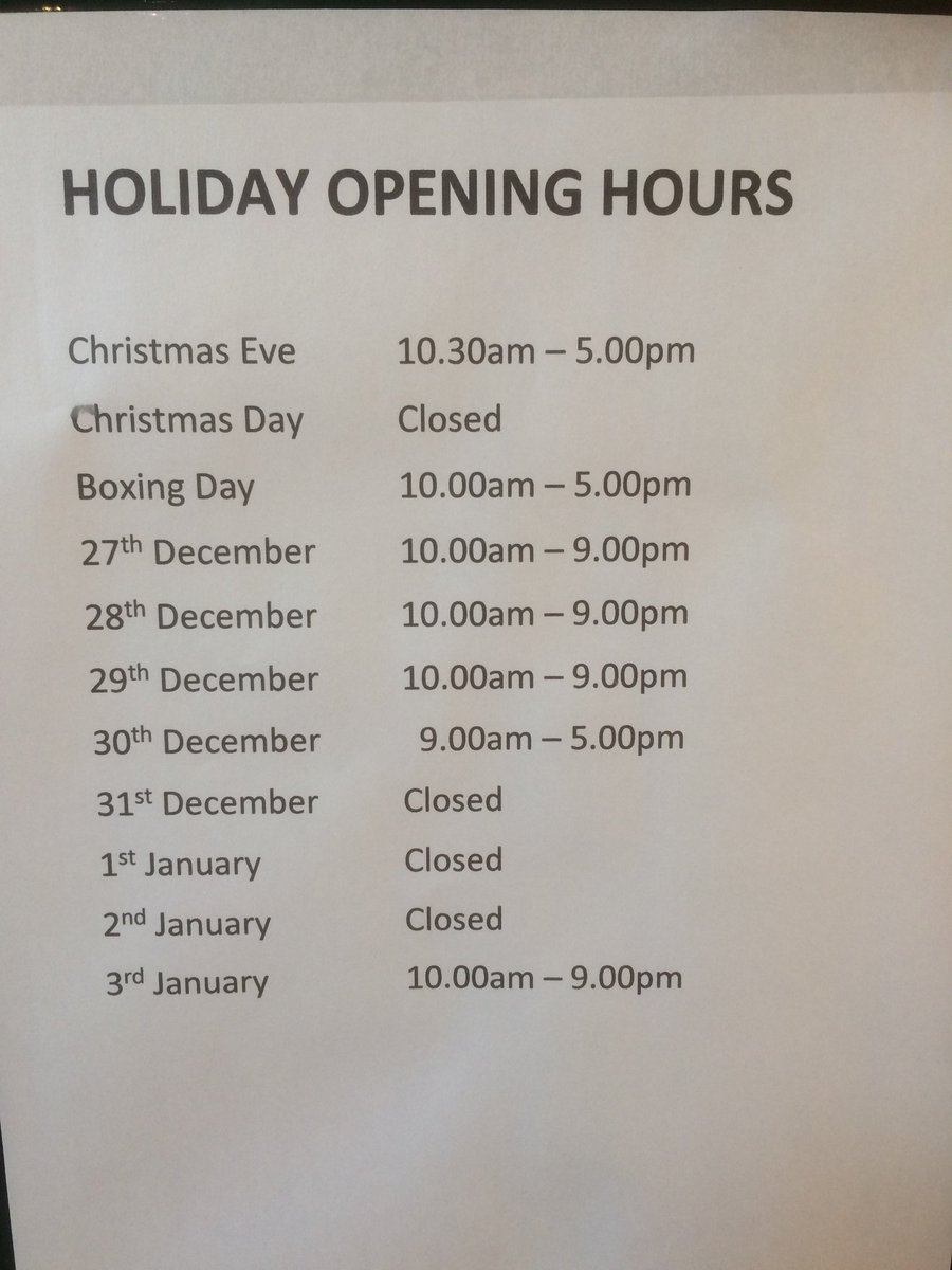 ross cameron on twitter berryhill driving range holiday opening hours - Ross Christmas Hours