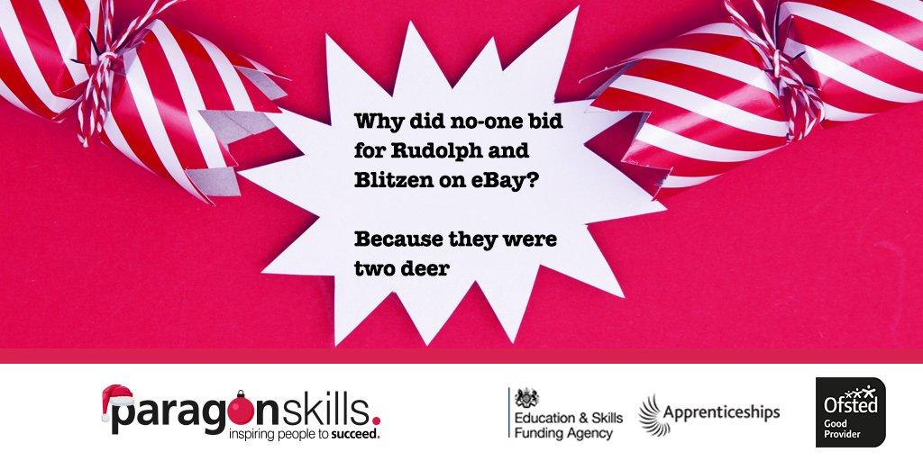 Christmas Crackers  #joke #apprenticeships #education #sorrynotsorry https://t.co/Xnvzh9lUeD