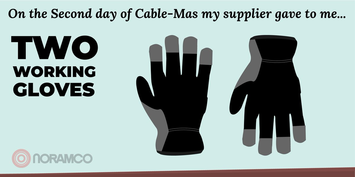 The official second day of Cable-Mas is here! What did our supplier get us today? #Wire #Christmas <br>http://pic.twitter.com/Yc9KrEuSaZ