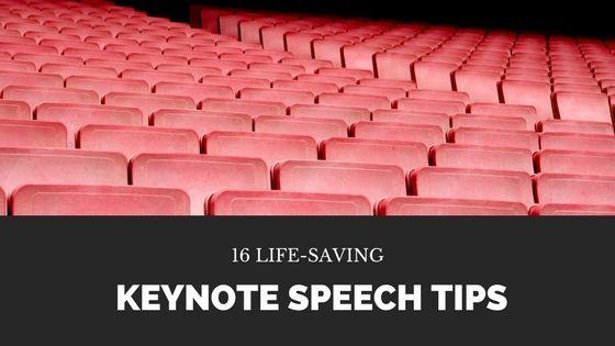 16 Life-Saving #Keynote Speech Tips https://t.co/PrtTHFKYF2 #speech #publicspeaking https://t.co/ZKXLYTOMgY