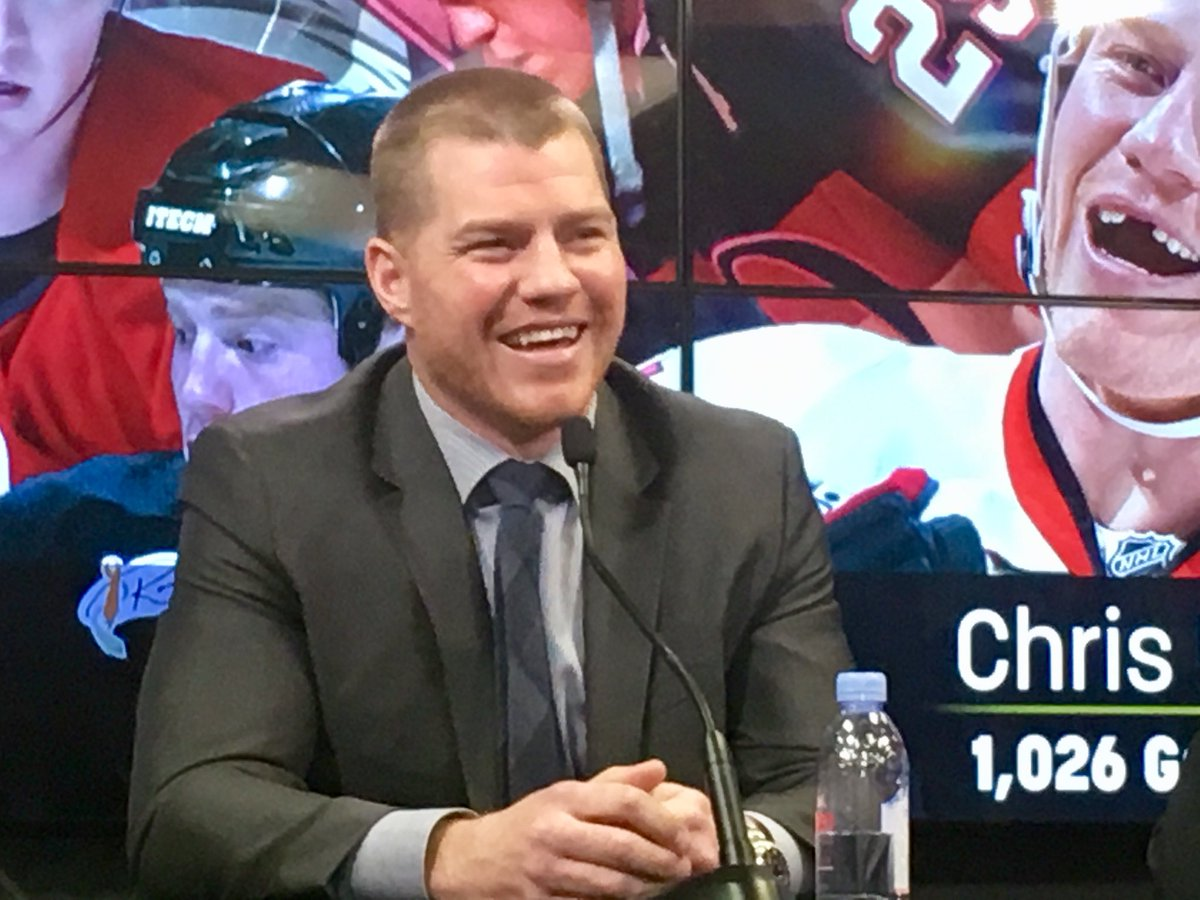 """I'm hoping Philly might take me in the first round.""  Chris Neil has officially been added to the roster for tomorrow's #Sens Alumni Classic."