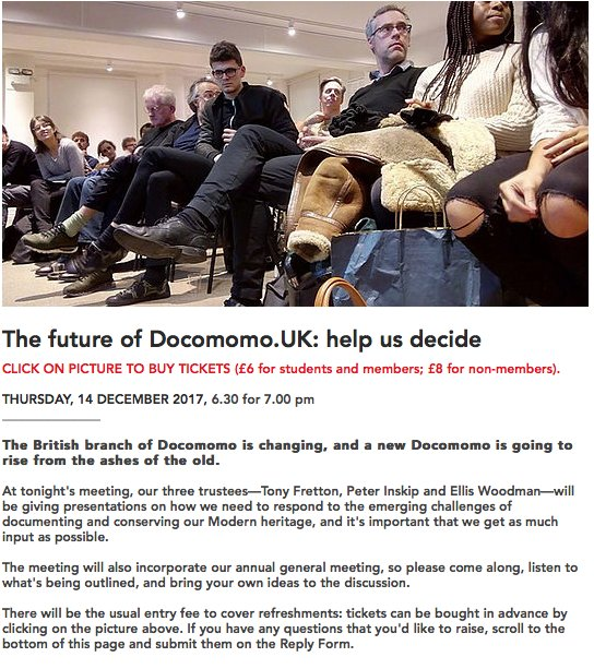 Docomomo UK on Twitter: