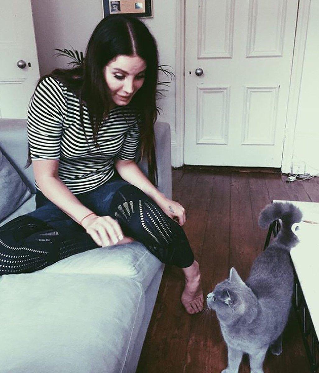Marina Diamandis publica foto de Lana Del Rey brincando com sua xana no Instagram https://t.co/cWTKcObyQX https://t.co/ydxjnul35W