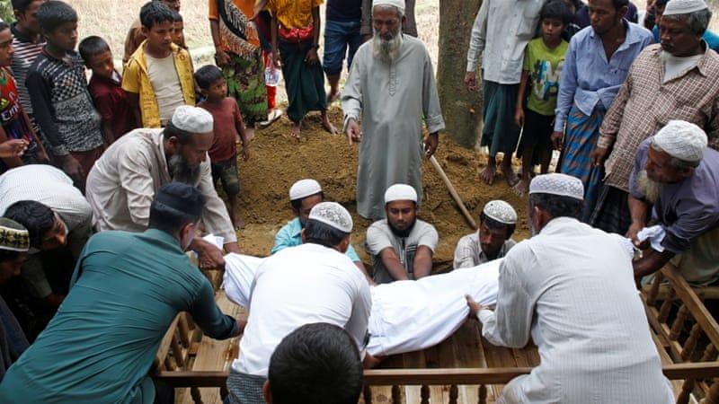 More than 6,700 Rohingya killed in one month in Myanmar, says @MSF https://t.co/EH9gyIIijz