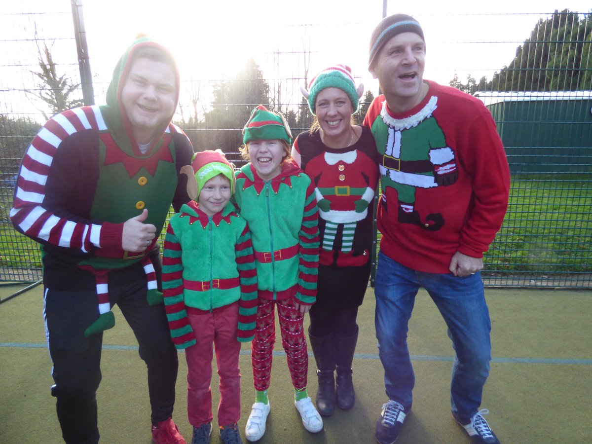 milbourne lodge on twitter the christmas jumper competition has just taken place milbournelodge we seem to have a christmas elf family in school - The Christmas Lodge