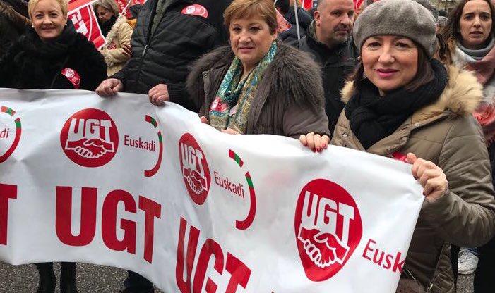 FeSP Euskadi en Madrid con la gran manifestación por la recuperación del Sector Público