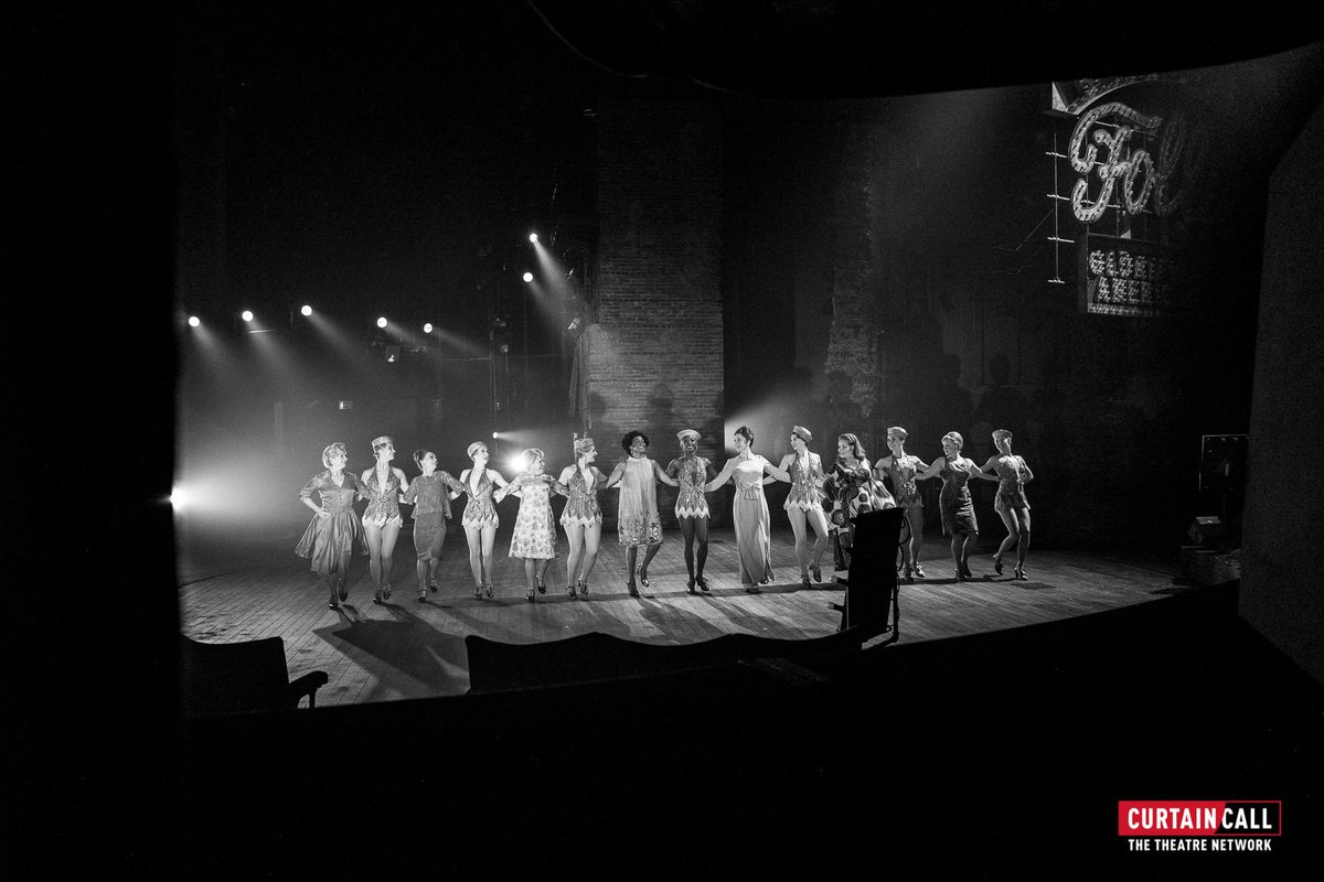 The brilliant cast of #Follies onstage at the @NationalTheatre who welcomed us backstage last night – one of my all-time favourite shoots for @curtaincall - Thanks guys :)<br>http://pic.twitter.com/adnuHNmKIR