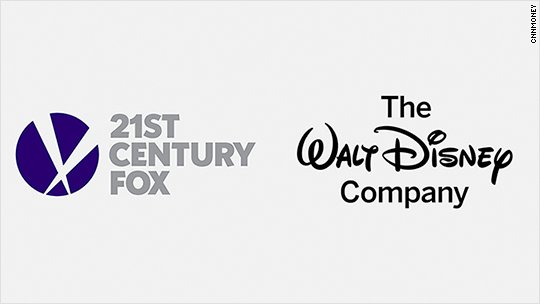 From @CNBC | @Disney to buy 21st Century Fox assets in a deal worth more than $52 bn in stock https://t.co/B0WVb5C6Q3
