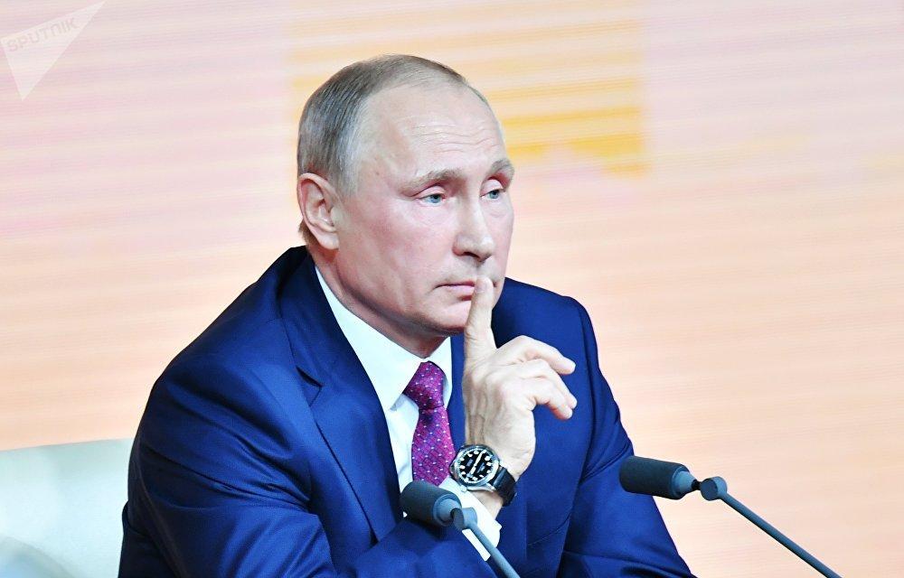 'Vemos uma ameaça terrorista crescente no Afeganistão', afirma Putin #PutinPresser https://t.co/wz7zEmI6mC
