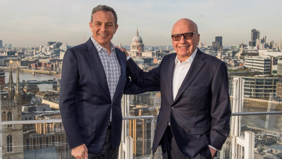 Disney chairman and CEO Bob Iger: 'We're honored and grateful that Rupert Murdoch has entrusted us with the future of businesses he spent a lifetime building' https://t.co/dnLFk4xnKG