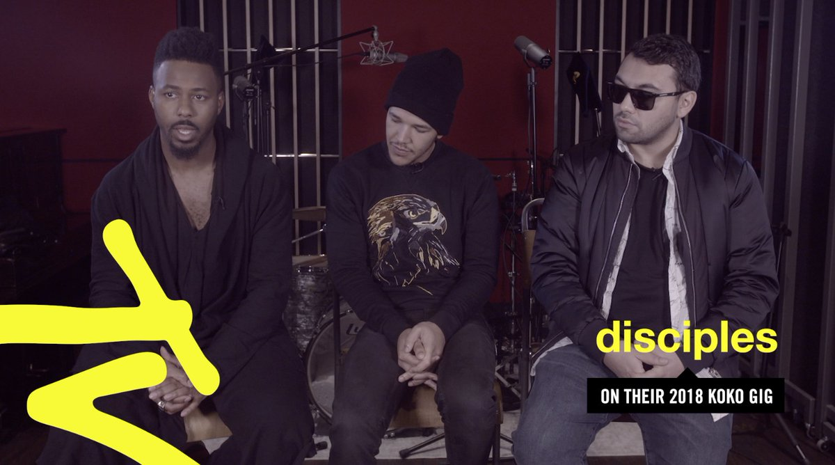 Reason #29 to excited about 2018: @Disciples have a huge show at KOKO lined up! Here's what the guys are planning >>> https://t.co/0Il0r6j8Fy