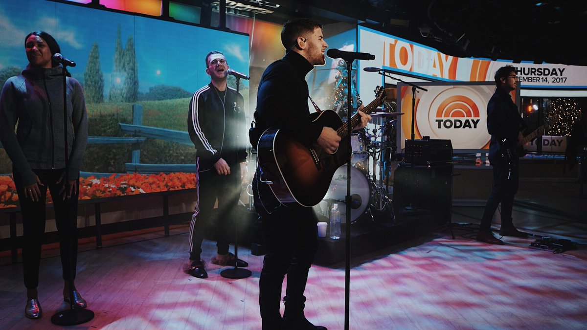 Rehearsals? ✅ Don't miss the @TODAYshow this morning! #HOME