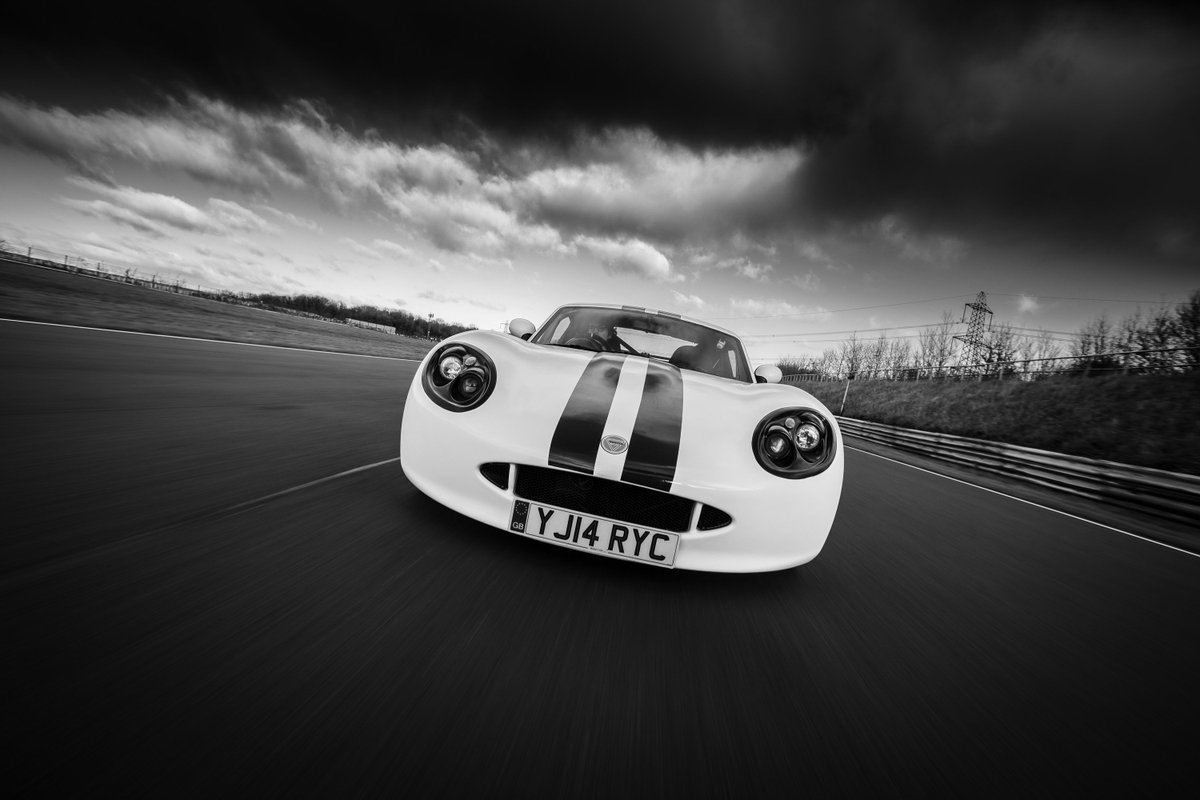 I loved shooting this @GinettaCars on track for @Carfection. Driven and owned by the excellent @MikeChannell. This one deserved a moody mono edit.