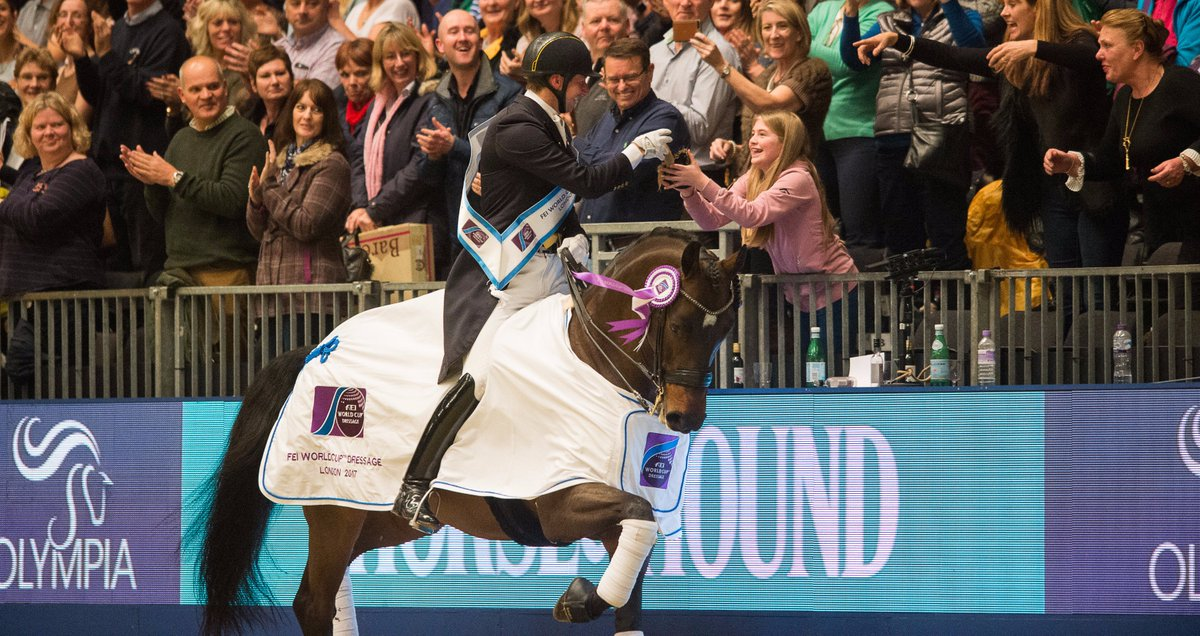 The reactions were on fire & star performances shone as Emile Faurie pushed Patrik Kittel all the way in the  Dre#FEIWorldCupssage  las@olympiahorsete night. Catch up on all the action now: https://t.co/xvXO2ss33s