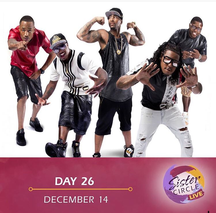 Today on @sistercircletv My boys from Day 26 are in the ⭕️ @tvonetv @day6official @WillieTaylor