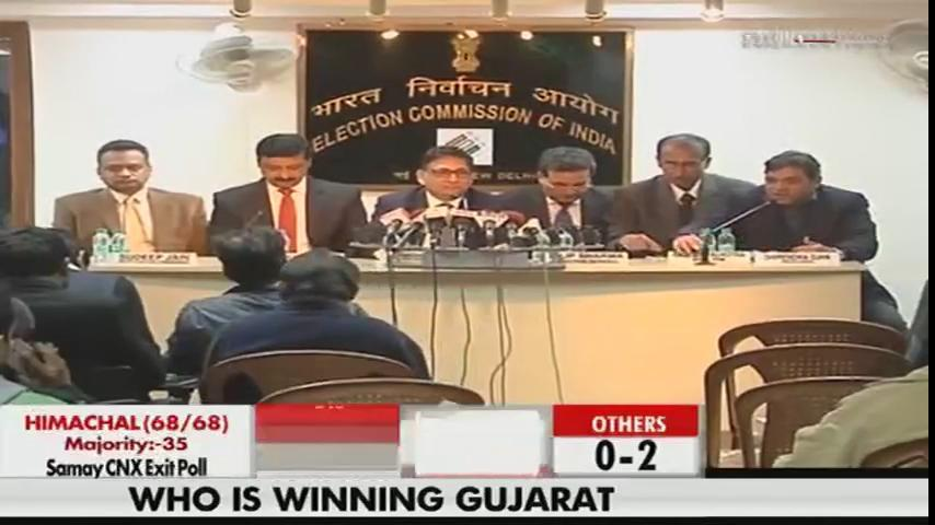 Election Commission press conference on #GujaratElection2017 #AssemblyElections2017   Watch LIVE: https://t.co/hMlRpgrUU6