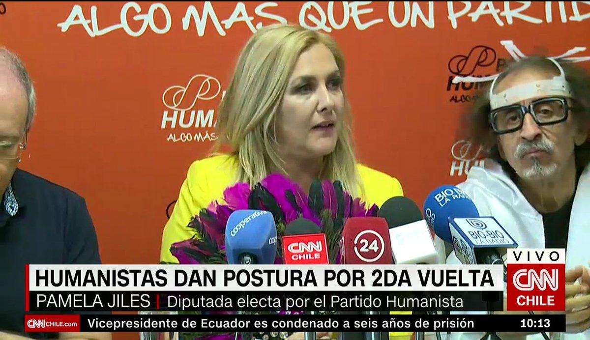 AHORA - Diputados electos del Partido Humanista oficializan su respaldo a Alejandro Guillier #CNNChile