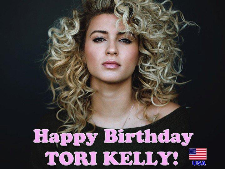 Happy 25th Birthday #torikelly! @torikelly  💖🇺🇸🎤🎶🎸🎹🎂🎉🎁🎈💐🌟🎇