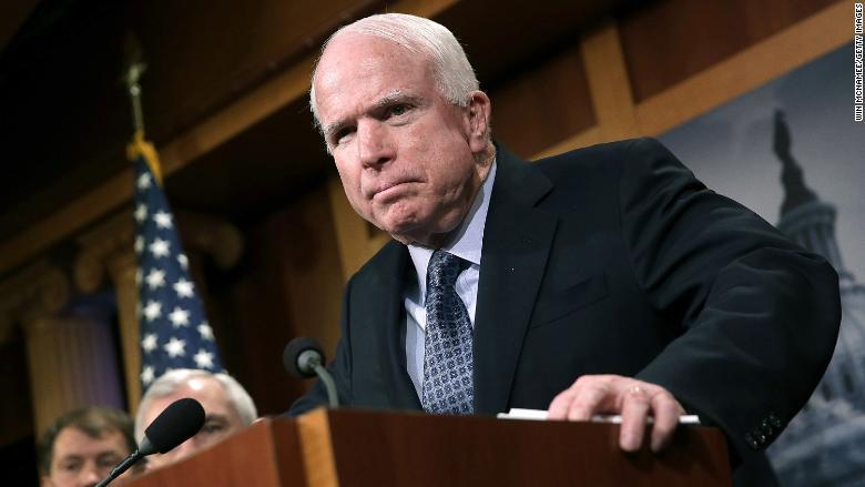 RT @CNNPolitics: Sen. John McCain to President Trump: Lay off the