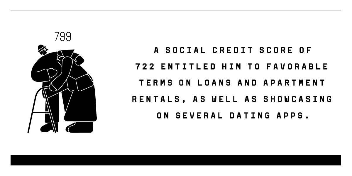 It works like this: The better your reputation—achieved by things like having a PhD, who you associate with, and what you buy—the higher your social credit score. Those with high scores are given preferential treatment in societyhttps://t.co/fFWmijk4c9.