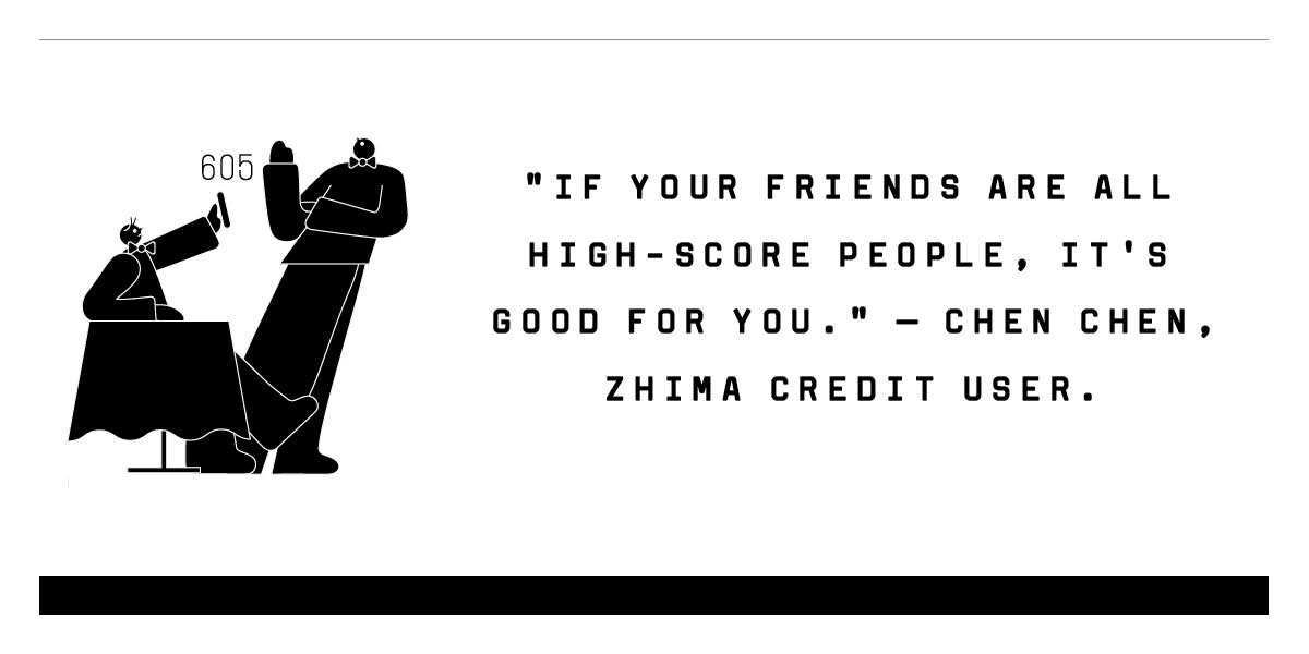 The system has even gone so far as to encourage people to befriend some individuals over others, in effort to boost their score. And if your score slips, prepare to be ostracizedhttps://t.co/fFWmijk4c9.
