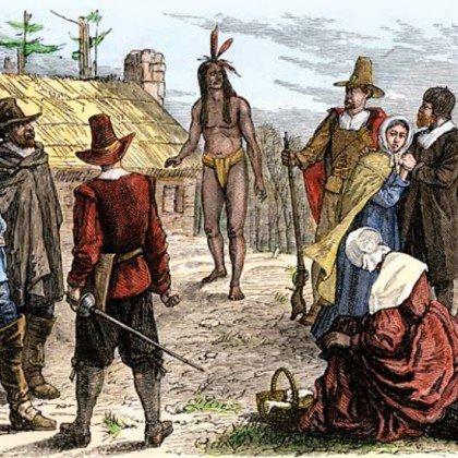 Samoset, el primer nativo que contactó c...