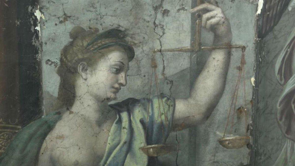Pinturas de Rafael com mais de 500 anos descobertas no Vaticano https://t.co/9K0I1w2ffK