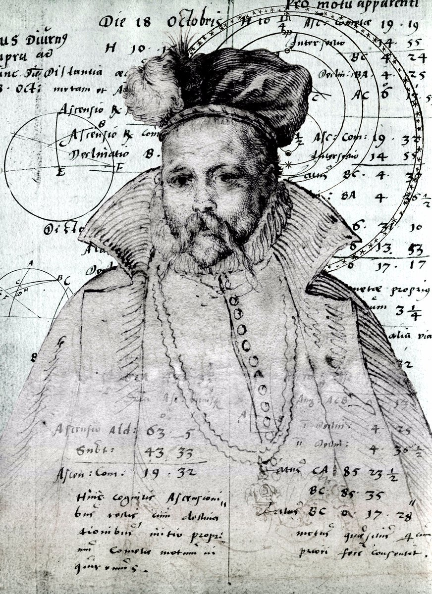 471 years ago #Today, Tycho Brahe, astronomer and &#39;first competent mind in modern astronomy&#39;, was born  http:// bit.ly/1VTofdo  &nbsp;  <br>http://pic.twitter.com/vM0YL27bft