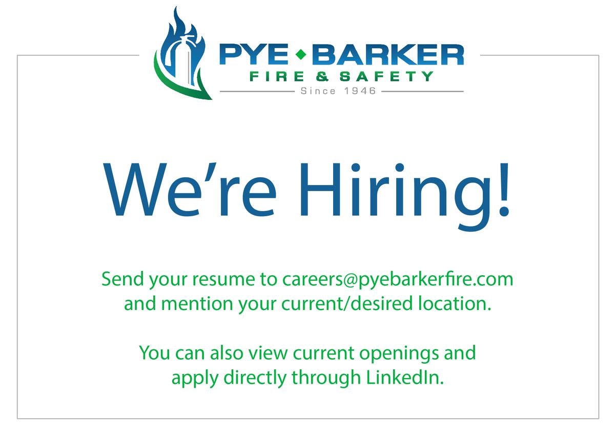 Pye-Barker Fire on Twitter: \