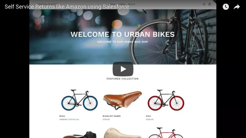 Want to know how to do self service returns like #amazon in #salesforce? Watch this video. https://t.co/XKnyBlBVDH https://t.co/IwoXA9Henf