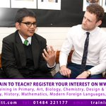 Train to teach with Kirklees & Calderdale SCITT. We have training places in Art, Biology, Chemistry, DT, English, Geography, History, Mathematics, MfL, Music, Drama & Physics. https://t.co/bgdFAM9PBg #traintoteach #getintoteaching