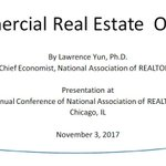 View the presentation slides from Lawrence Yun's talk at the Commercial Real Estate Economic Issues and Trends Forum at #NARAnnual. https://t.co/6yQ1jWIZtO